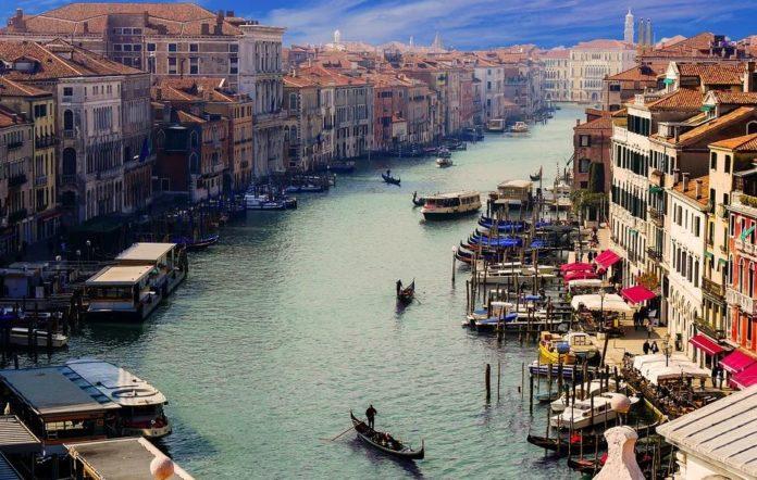 séjour au pair à Venise